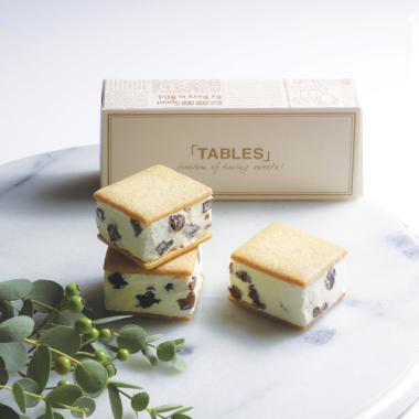 TABLES_堀江バターサンド レーズンバター